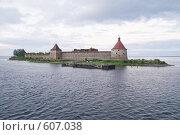Купить «Река Нева. Шлиссельбургская крепость Орешек», фото № 607038, снято 24 июня 2008 г. (c) Павел Гаврилов / Фотобанк Лори