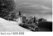 Купить «Черногория вид на город Пераст», фото № 609898, снято 20 октября 2008 г. (c) Рягузов Алексей / Фотобанк Лори