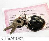 Купить «Управление автомобилем по доверенности», эксклюзивное фото № 612074, снято 11 декабря 2008 г. (c) Ольга Корбут / Фотобанк Лори