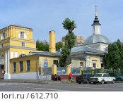 Купить «Москва.Храм Сорока Севастийских мучеников», эксклюзивное фото № 612710, снято 9 августа 2008 г. (c) lana1501 / Фотобанк Лори