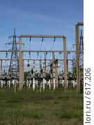 Купить «Трансформаторная подстанция Северной ТЭЦ-21. Санкт-Петербург», фото № 617206, снято 21 мая 2007 г. (c) Александр Секретарев / Фотобанк Лори