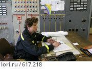 Купить «Пульт управления трансформаторной подстанции Северной ТЭЦ-21. Санкт-Петербург», фото № 617218, снято 21 мая 2007 г. (c) Александр Секретарев / Фотобанк Лори