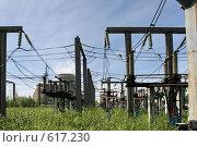 Купить «Трансформаторная подстанция Северной ТЭЦ-21. Санкт-Петербург», фото № 617230, снято 21 мая 2007 г. (c) Александр Секретарев / Фотобанк Лори