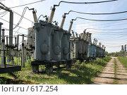 Купить «Трансформаторная подстанция Северной ТЭЦ-21. Санкт-Петербург», фото № 617254, снято 21 мая 2007 г. (c) Александр Секретарев / Фотобанк Лори