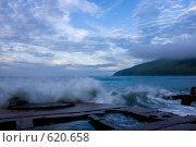 Купить «Море бушует, остров Аскольд», фото № 620658, снято 2 августа 2008 г. (c) Леонид Селивёрстов / Фотобанк Лори
