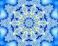 Синяя снежинка, иллюстрация № 622170 (c) Parmenov Pavel / Фотобанк Лори