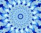 Синяя снежинка, иллюстрация № 622174 (c) Parmenov Pavel / Фотобанк Лори