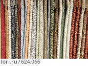 Купить «Образцы обивки в мебельном магазине», фото № 624066, снято 16 апреля 2008 г. (c) Михаил Малышев / Фотобанк Лори