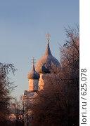Восход солнца в Суздале (2008 год). Редакционное фото, фотограф Кирилл Дорофеев / Фотобанк Лори