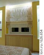Купить «Фрагмент интерьера спальной комнаты», фото № 626654, снято 4 ноября 2008 г. (c) Гребенников Виталий / Фотобанк Лори