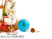 Купить «Новогодняя открытка», фото № 628662, снято 12 декабря 2008 г. (c) Александр Чистяков / Фотобанк Лори
