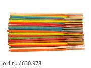 Купить «Ароматические палочки», фото № 630978, снято 21 декабря 2008 г. (c) Бутенко Андрей / Фотобанк Лори