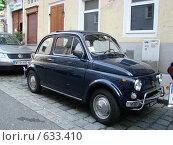 Старый автомобиль на улицах Австрии (2008 год). Редакционное фото, фотограф Сакмаров Илья / Фотобанк Лори