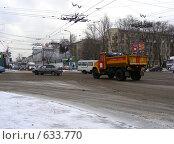 Купить «Москва. Городской пейзаж. Перекресток щелковского  шоссе и 9-ой парковой улицы», эксклюзивное фото № 633770, снято 23 декабря 2008 г. (c) lana1501 / Фотобанк Лори