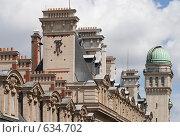 Купить «Архитектура Сорбонны», фото № 634702, снято 21 июня 2007 г. (c) Юрий Синицын / Фотобанк Лори