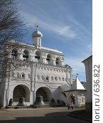 Купить «Звонница Новгородского Кремля», фото № 636822, снято 14 апреля 2007 г. (c) Светлана Кудрина / Фотобанк Лори