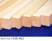 Купить «Распиленные брусья для сращивания», фото № 638462, снято 16 октября 2008 г. (c) Андрияшкин Александр / Фотобанк Лори