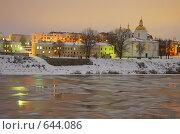 Вид на Богоявленский собор. Полоцк (2008 год). Стоковое фото, фотограф Андрей Марцинкевич / Фотобанк Лори