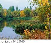 Осенние краски. Стоковое фото, фотограф Александр Лихачев / Фотобанк Лори