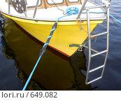Яхта. Пиршество цвета. Стоковое фото, фотограф Murat Valiev / Фотобанк Лори