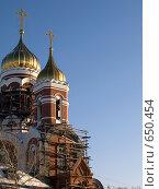 Золотые купола. Стоковое фото, фотограф Коротеев Сергей / Фотобанк Лори