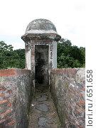 Проход в старой крепости. Стоковое фото, фотограф tyuru / Фотобанк Лори