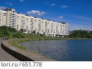 Купить «Пейзаж в Минске», фото № 651778, снято 21 июня 2008 г. (c) АЛЕКСАНДР МИХЕИЧЕВ / Фотобанк Лори