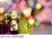 Купить «Новогодние игрушки», фото № 654026, снято 9 января 2009 г. (c) Алифиренко Виталий / Фотобанк Лори