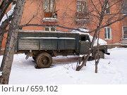 Старый грузовик. Стоковое фото, фотограф Андрей Сверкунов / Фотобанк Лори