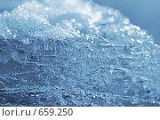 Купить «Лед и снег», фото № 659250, снято 5 февраля 2008 г. (c) Dina / Фотобанк Лори