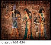 Купить «Древний египетский папирус», фото № 661434, снято 22 октября 2018 г. (c) Вероника Галкина / Фотобанк Лори