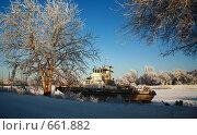 Старый корабль (2009 год). Редакционное фото, фотограф Володина Светлана / Фотобанк Лори