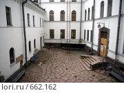 Двор крепости в городе Выборге (2008 год). Редакционное фото, фотограф Илларионов Андрей / Фотобанк Лори
