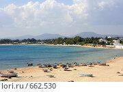 Залив моря и песчаный берег (2008 год). Стоковое фото, фотограф Сергей Русаков / Фотобанк Лори