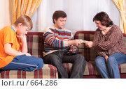 Купить «Денежные отношения», фото № 664286, снято 23 ноября 2008 г. (c) Майя Крученкова / Фотобанк Лори