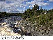 Купить «Вид на р. Шуя», фото № 666946, снято 13 июня 2008 г. (c) Елена Прокопова / Фотобанк Лори