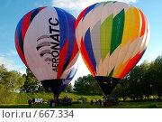 Купить «Фестиваль воздухоплавателей», фото № 667334, снято 3 июня 2006 г. (c) Игорь Бунцевич / Фотобанк Лори