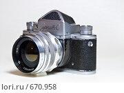 Зенит-С с объективом Мир-1 (2009 год). Редакционное фото, фотограф Дмитрий Махаев / Фотобанк Лори