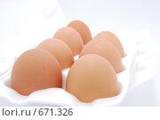 Купить «Яйца», фото № 671326, снято 15 августа 2018 г. (c) Егор Мастеров / Фотобанк Лори