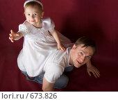 Купить «Маленькая наездница», фото № 673826, снято 9 января 2009 г. (c) Александр Чистяков / Фотобанк Лори