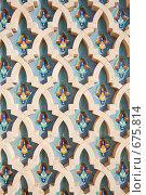 Купить «Орнамент мечети Хасана II. Касабланка, Марокко.», фото № 675814, снято 25 декабря 2008 г. (c) Владимир Мельник / Фотобанк Лори