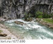 Купить «Река Юпшара», фото № 677690, снято 20 апреля 2008 г. (c) Vladimir Semushin / Фотобанк Лори