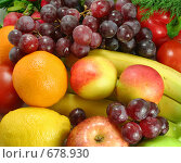 Свежие фрукты. Стоковое фото, фотограф Елена Иценко / Фотобанк Лори