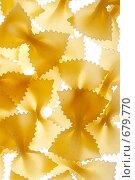Купить «Макароны - бантики», фото № 679770, снято 5 ноября 2008 г. (c) Татьяна Макотра / Фотобанк Лори