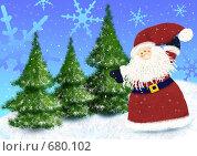 Купить «Новогодняя», иллюстрация № 680102 (c) Боев Дмитрий / Фотобанк Лори