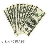 Купить «Тысяча долларов», фото № 680126, снято 22 февраля 2019 г. (c) Надежда Болотина / Фотобанк Лори
