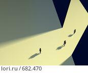 Купить «Движение к лучшему, движение вперед», иллюстрация № 682470 (c) Михаил Белков / Фотобанк Лори