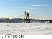 Купить «Мост «Миллениум». Казань», фото № 683046, снято 27 января 2009 г. (c) Ирина Андреева / Фотобанк Лори