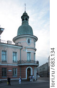 Бывшее здание Русско-Азиатского банка. Иркутск (2008 год). Редакционное фото, фотограф Елена Лавренова / Фотобанк Лори