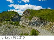 Купить «Перевал Чике Таман», фото № 683210, снято 12 июня 2008 г. (c) Селигеев Андрей Иванович / Фотобанк Лори